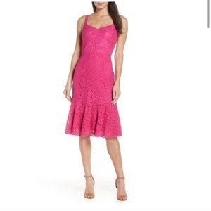 NWOT Chelsea28 Pink Lace Dress